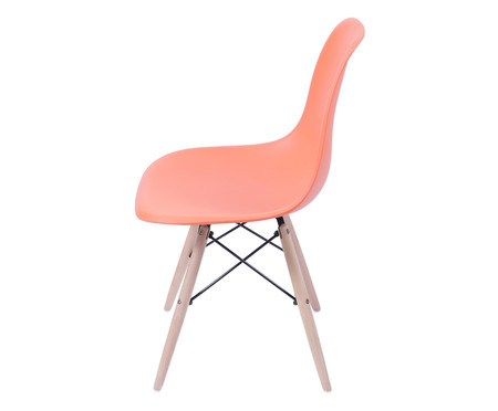 Cadeira Infantil Eames Wood - Laranja   WestwingNow