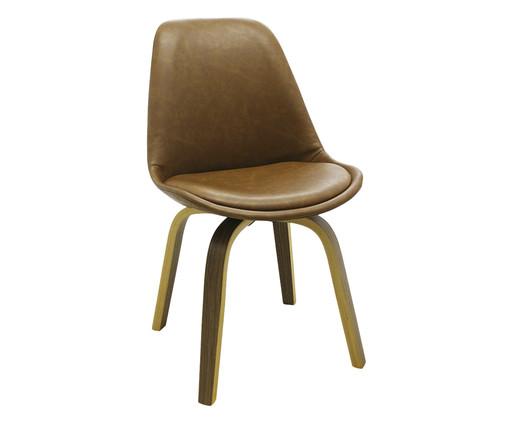 Cadeira Lis - Marrom Claro, Marrom, Colorido | WestwingNow