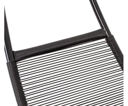 Cadeira de Balanço Suspensa Circle - Preta | WestwingNow