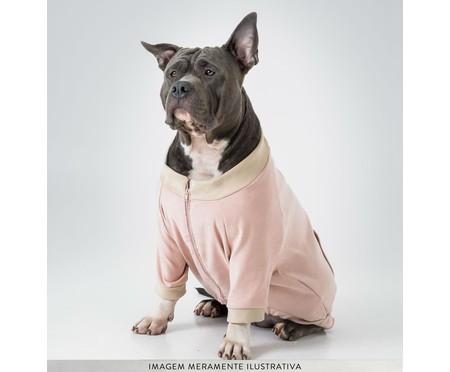 Jaqueta para Pet em Suede - Rosa   WestwingNow