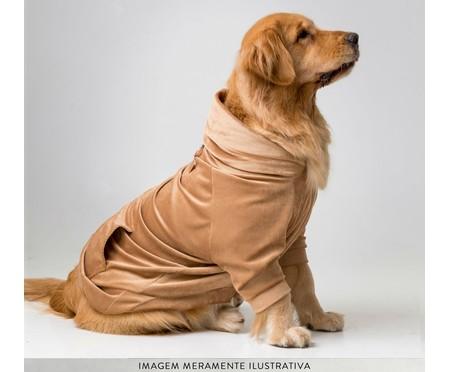 Jaqueta para Pet em Veludo - Caramelo   WestwingNow