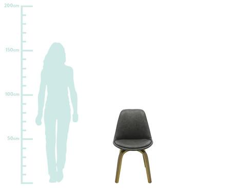 Cadeira Lis - Cinza Escuro | WestwingNow