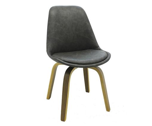 Cadeira em Madeira Lis - Cinza, Cinza | WestwingNow