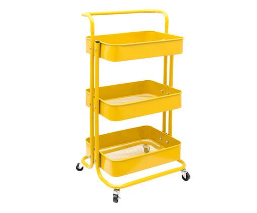 Carrinho Organizador Berlim - Amarelo, Amarelo | WestwingNow