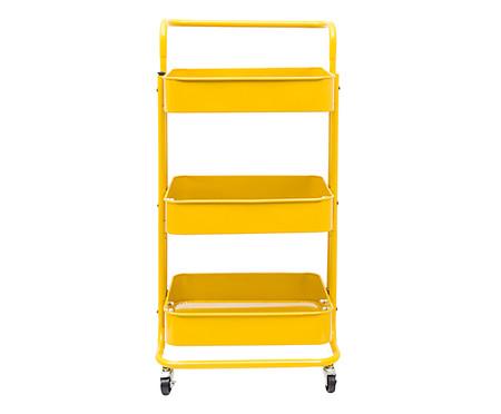 Carrinho Organizador Berlim - Amarelo | WestwingNow