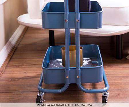 Carrinho Organizador Berlim - Azul | WestwingNow