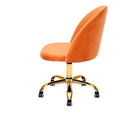 Cadeira de Escritório em Veludo Beetle - Damasco | WestwingNow