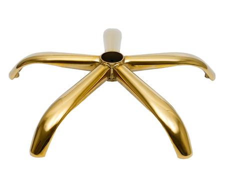 Cadeira de Escritório em PU Fiona - Ferrugem | WestwingNow