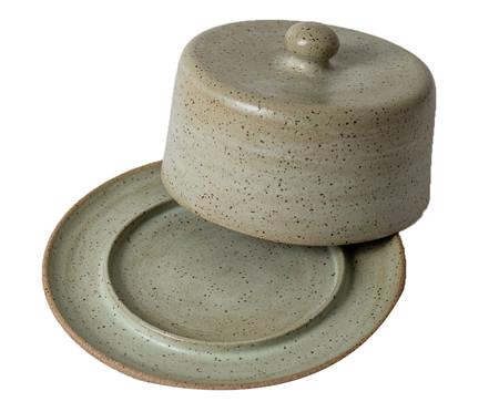 Queijeira em Cerâmica Morgan - Verde   WestwingNow