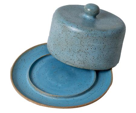 Queijeira em Cerâmica Morgan - Azul   WestwingNow
