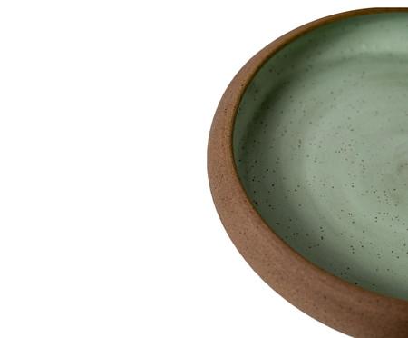 Jogo de Pratos Rasos em Cerâmica Christopher - Verde | WestwingNow