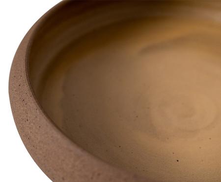 Jogo de Pratos Rasos em Cerâmica Christopher - Amarelo   WestwingNow