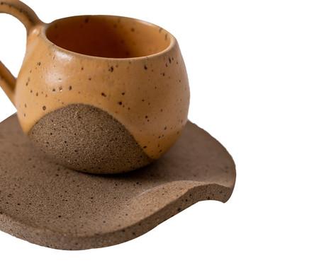 Jogo de Xícaras para Café em Cerâmica Ross - Amarelo   WestwingNow