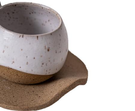 Jogo de Xícaras para Café em Cerâmica Ross - Bege   WestwingNow