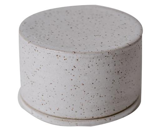 Manteigueira em Cerâmica Sissy - Branco, Branco | WestwingNow