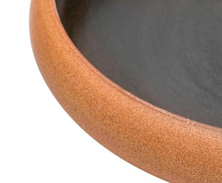Jogo de Pratos Rasos em Cerâmica Christopher - Preto | WestwingNow