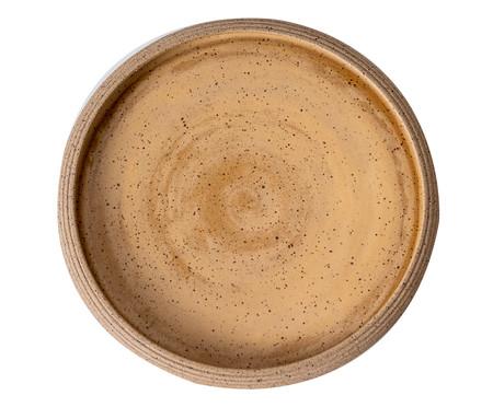 Jogo de Pratos Rasos em Cerâmica James - Amarelo   WestwingNow