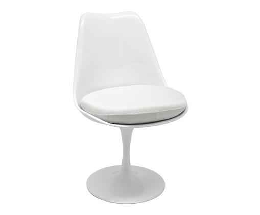 Cadeira Saarinen - Branco, Branco, Colorido | WestwingNow