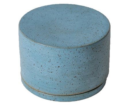 Manteigueira em Cerâmica Sissy - Azul | WestwingNow