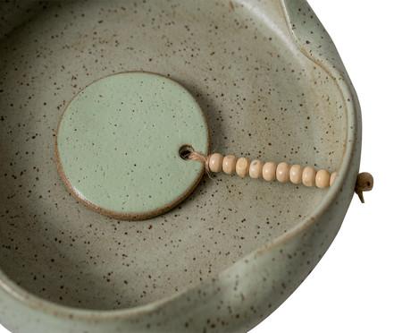 Porta Guardanapo em Cerâmica Elizabeth - Verde | WestwingNow