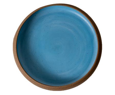 Jogo de Pratos Rasos em Cerâmica Christopher - Azul | WestwingNow