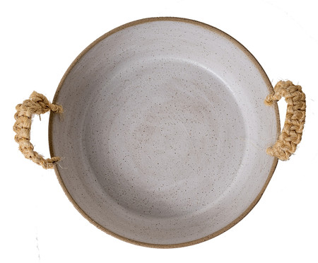Travessa em Cerâmica Lauraine - Branco | WestwingNow