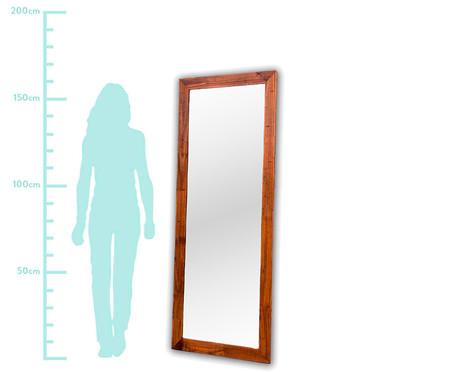 Espelho de Chão Say Marrom - 62x162cm   WestwingNow