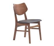 Cadeira em Madeira Edna - Preta e Natural | WestwingNow