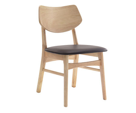 Cadeira Edna - Marrom Claro | WestwingNow