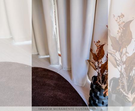 Cortina Corta Luz Liss - Palha   WestwingNow