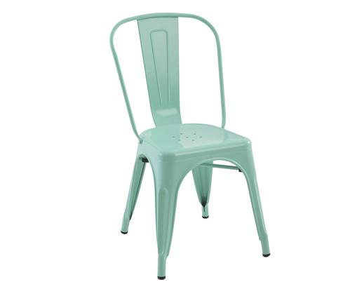 Cadeira de Aço Iron - Verde, Verde | WestwingNow