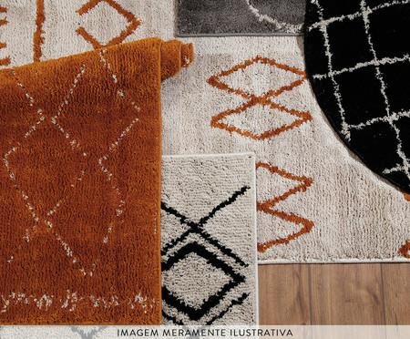 Tapete Redondo Grid - Pérola | WestwingNow
