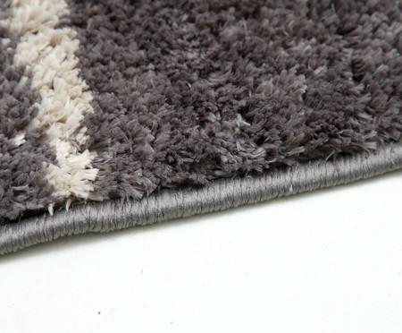 Tapete Pequeno Grid - Cinza Minério | WestwingNow