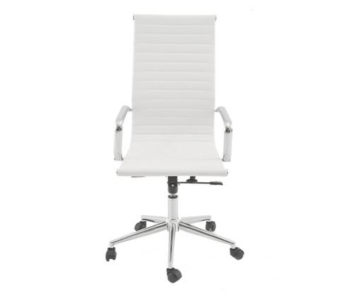 Cadeira de Escritório com Rodízio Abigail - Branca, Branco | WestwingNow