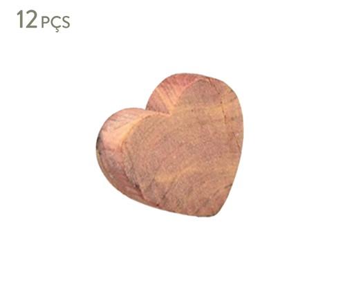 Jogo de Anéis de Cedro Paula - Natural, Natural   WestwingNow
