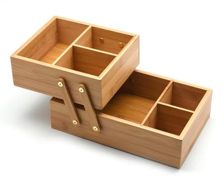 Caixa Organizadora Bambu Doly - Natural | WestwingNow