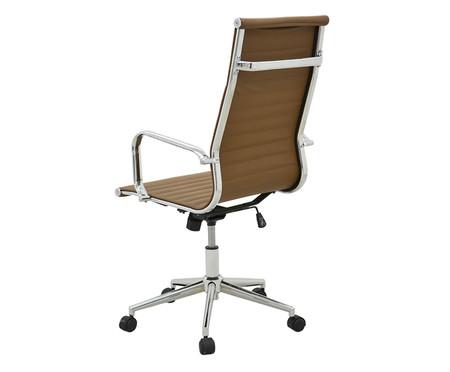 Cadeira de Escritório com Rodízios Glove Alta - Mel | WestwingNow