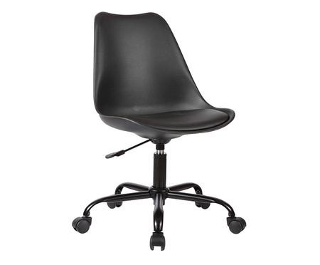 Cadeira de Escritório com Rodízios Lucinda - Preta | WestwingNow
