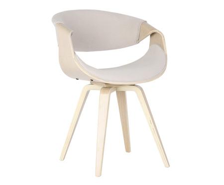 Cadeira em Linho Nicole - Bege | WestwingNow