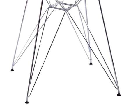 Mesa de Jantar de Vidro Redonda Eames Eiffel - Vidro | WestwingNow