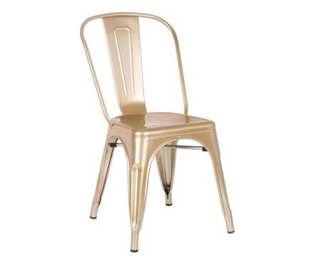 Cadeira de Aço Iron - Dourado | WestwingNow