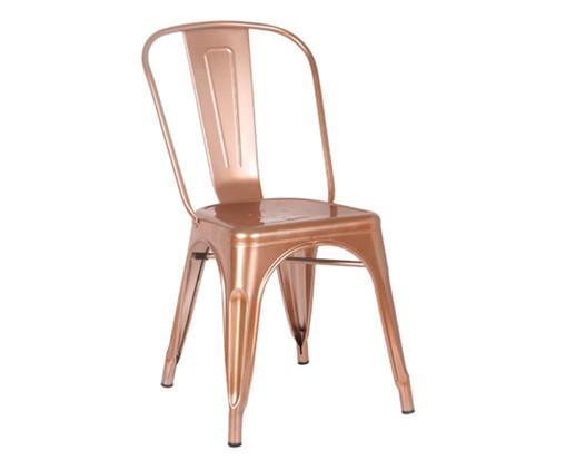 Cadeira Iron - Acobreado, Cobre | WestwingNow
