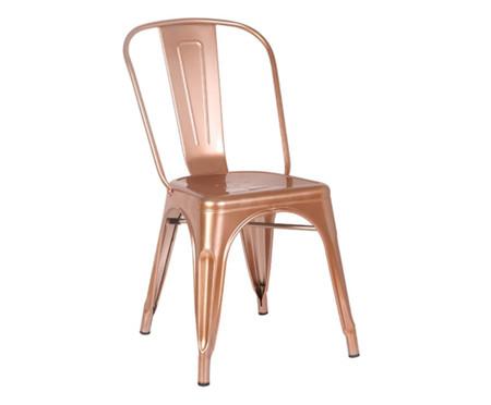 Cadeira Iron - Acobreado | WestwingNow