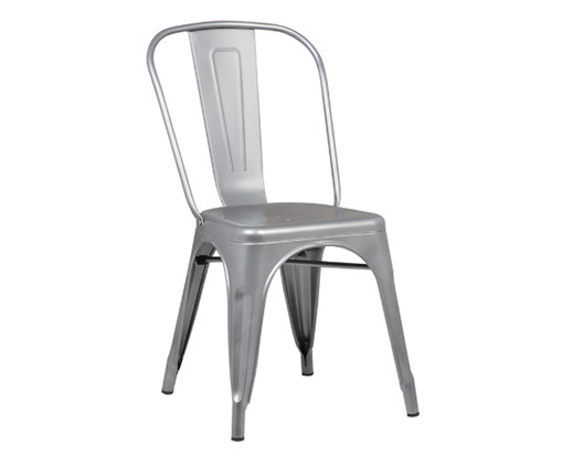 Cadeira Iron - Cinza, Cinza | WestwingNow