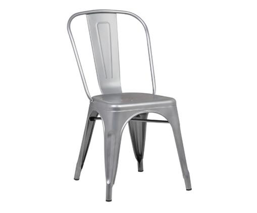 Cadeira de Aço Iron - Cinza, Cinza   WestwingNow