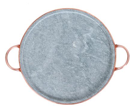 Forma para Pizza em Pedra Sabão - Cinza   WestwingNow