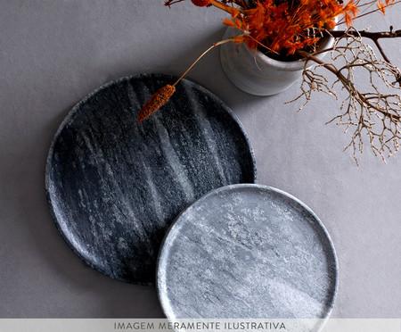Forma para Pizza em Pedra Sabão - Cinza | WestwingNow