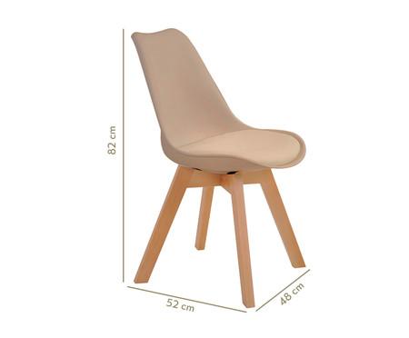 Cadeira Leda - Bege | WestwingNow