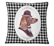 Capa de Almofada em Veludo com Vivo Dog | WestwingNow