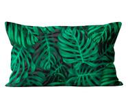 Capa de Almofada em Veludo Tropical Rafiki | WestwingNow
